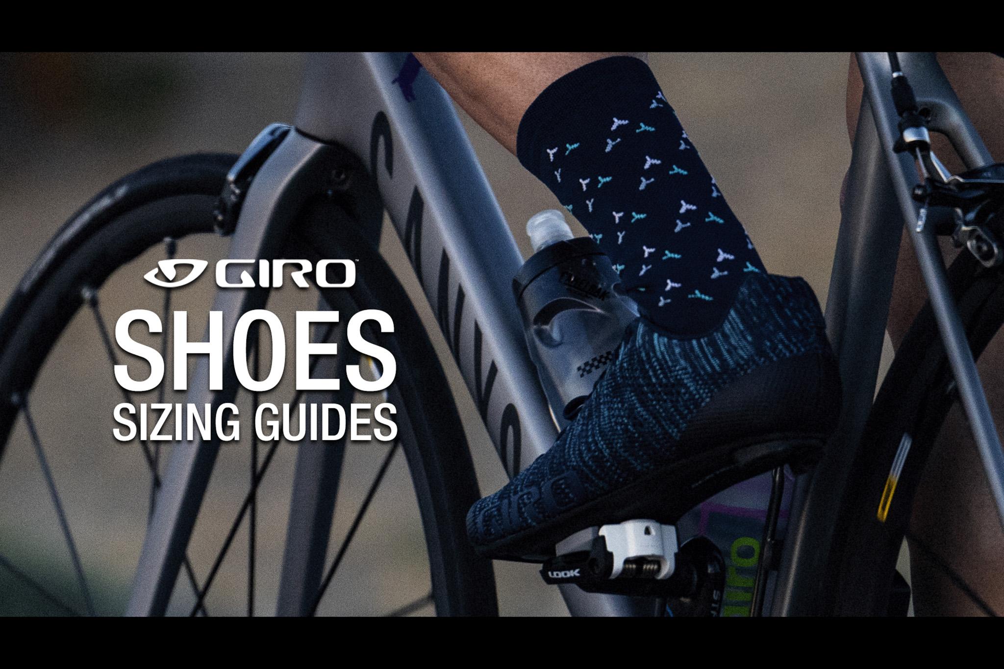 Giro Shoes Sizing วิธีการวัดไซส์เท้า เพื่อเลือกไซส์รองเท้าจักรยาน