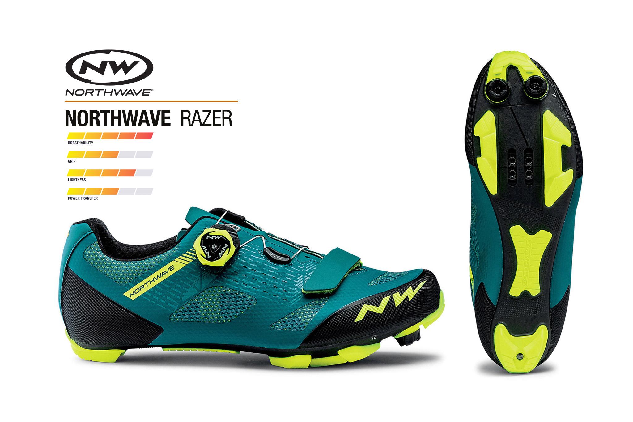 ใหม่! รองเท้าจักรยานเสือภูเขา NORTHWAVE รุ่น RAZER MTB shoe
