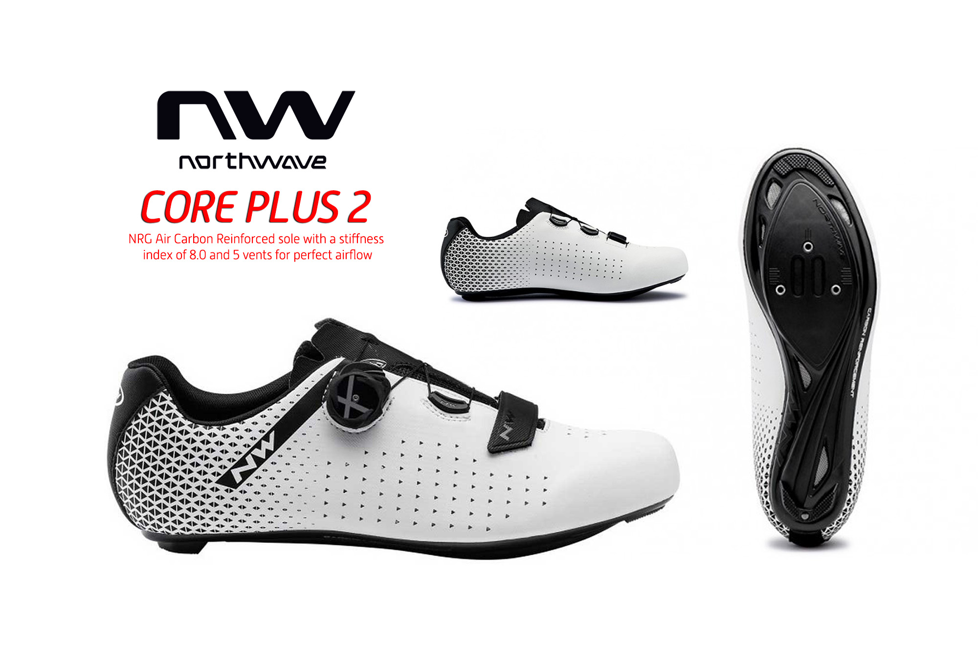 รองเท้าเสือหมอบ NORTHWAVE รุ่น CORE PLUS II