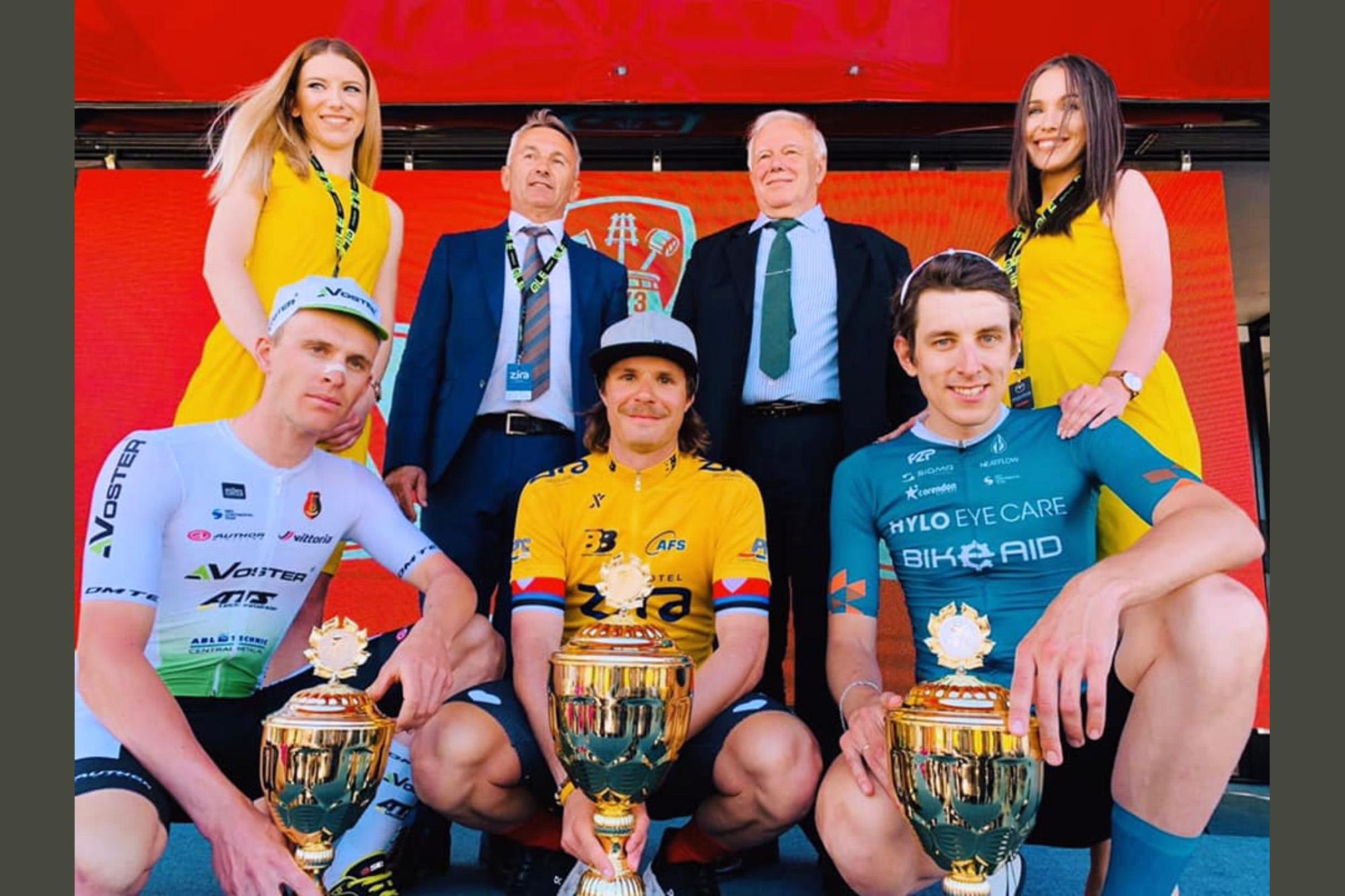 Justin Wolf ทีม BIKE AID และ KAZE RACE | KANSAI 2 คว้ารองแชมป์ รายการ Belgrade Banjaluka 2021 (UCI 2.1)