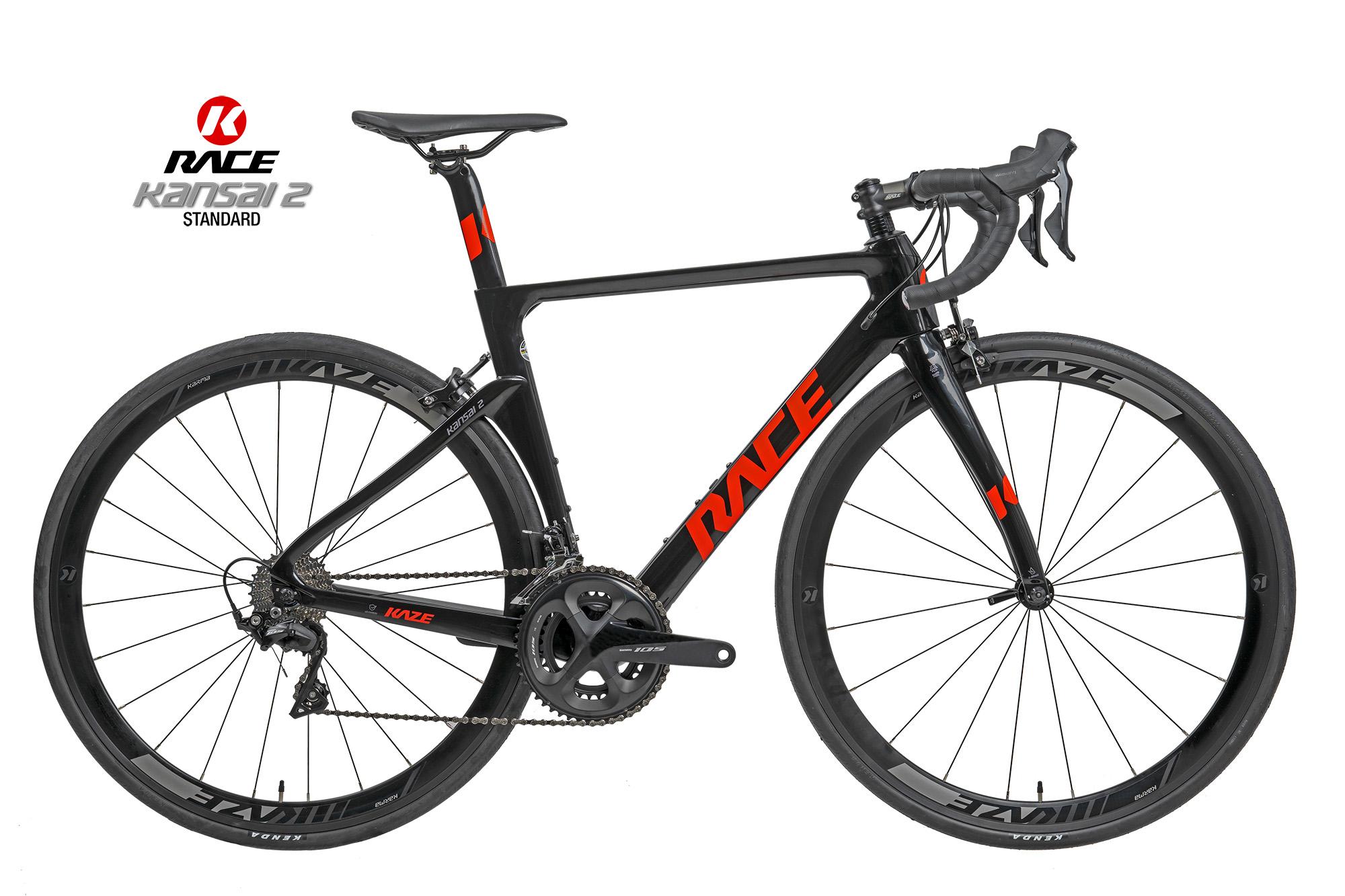 KAZE RACE | Kansai 2 (Standard) Shimano 105 Alu Wheel