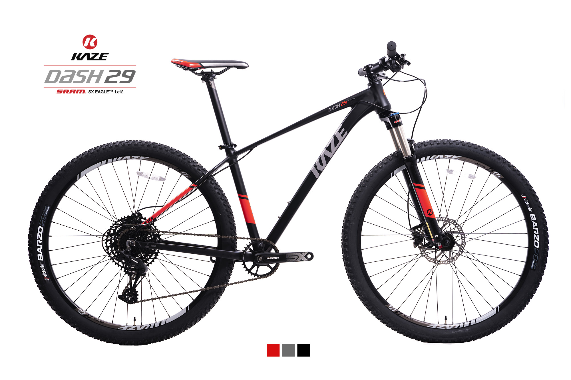 KAZE RACE | DASH29 (29er) SRAM EAGLE SX 1x12 Speed