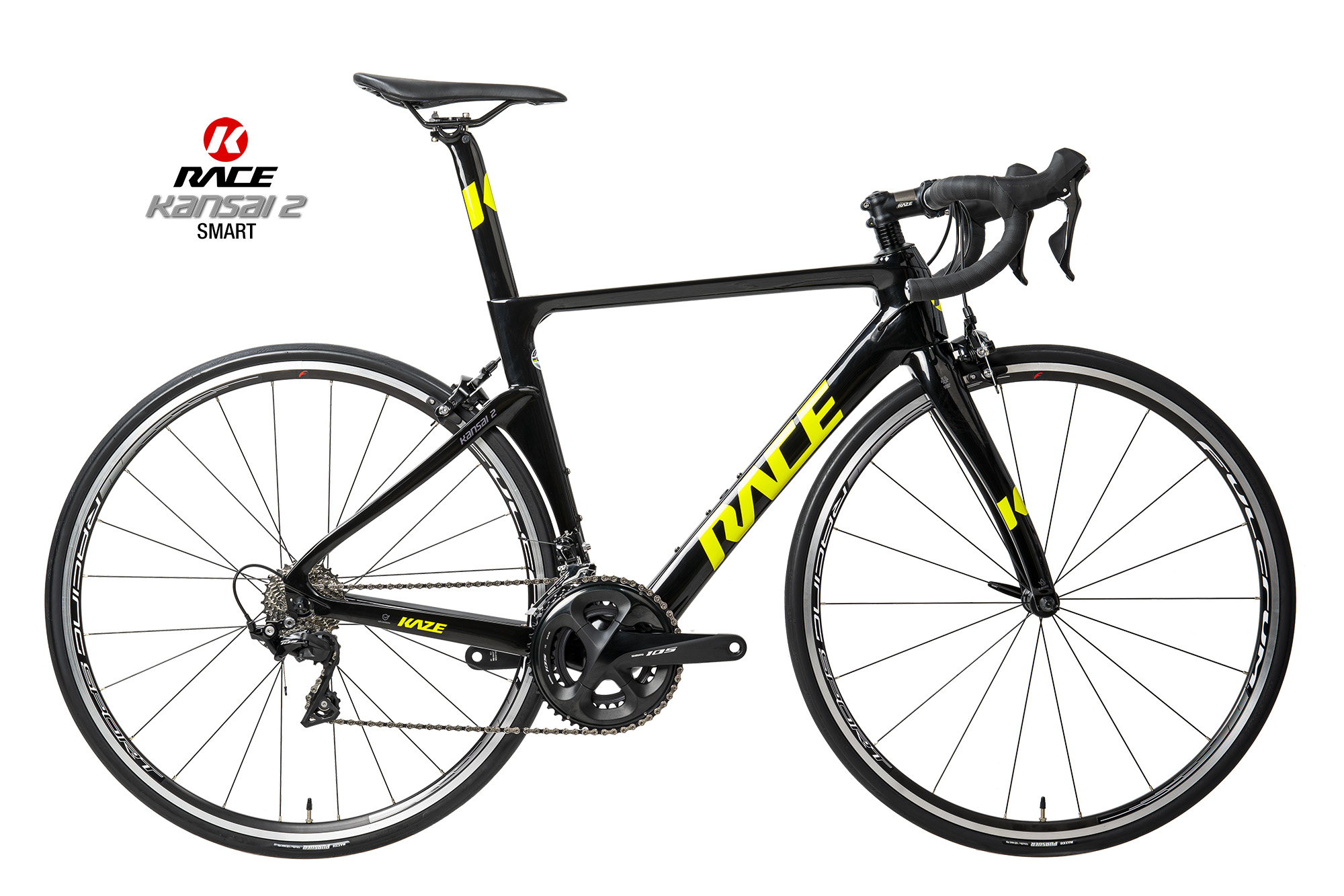 KAZE RACE | KANSAI 2  (Smart) Shimano 105 Fulcrum Alu Wheel