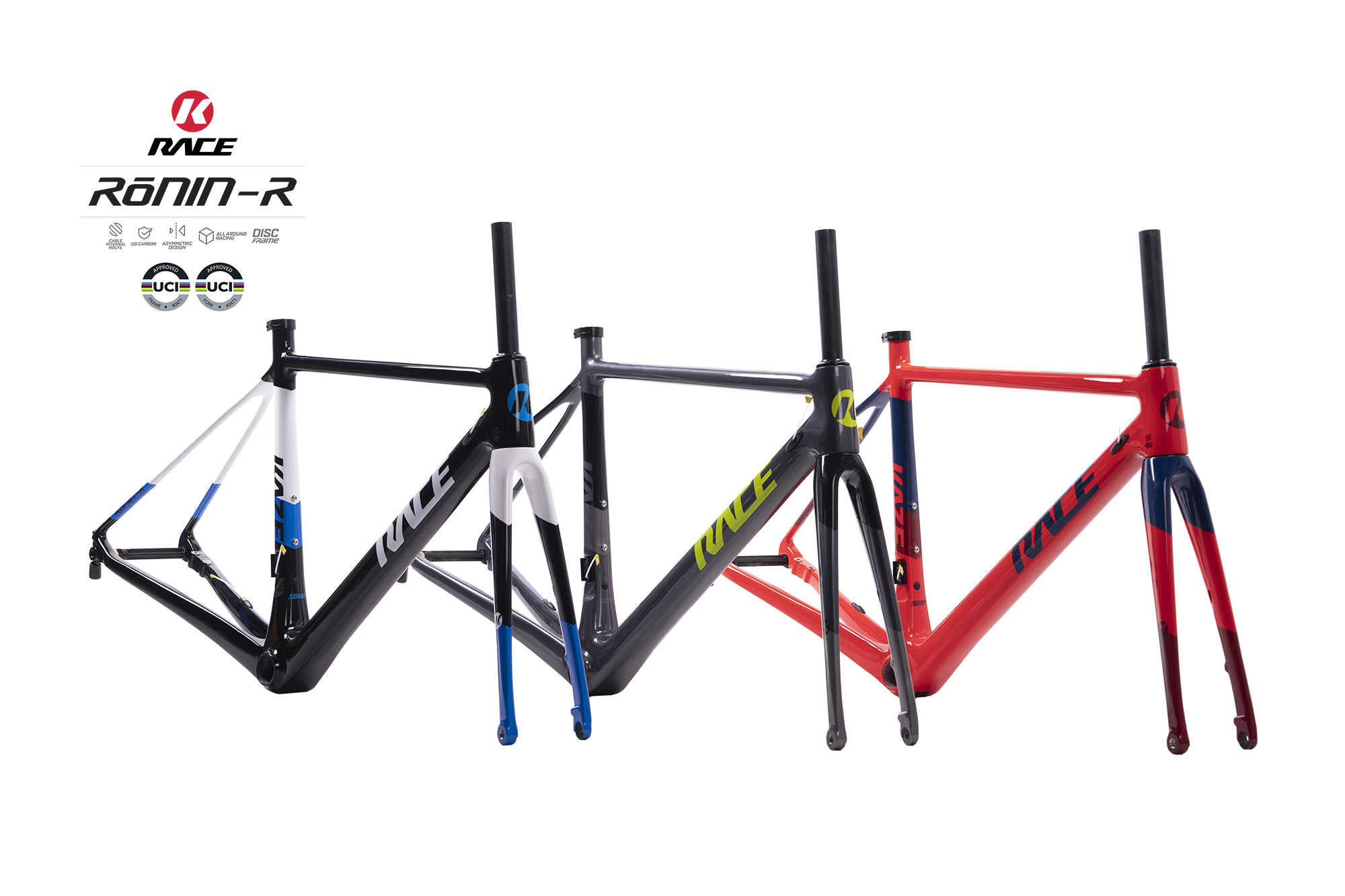 KAZE RACE   RONIN-R Disc (Frame set)
