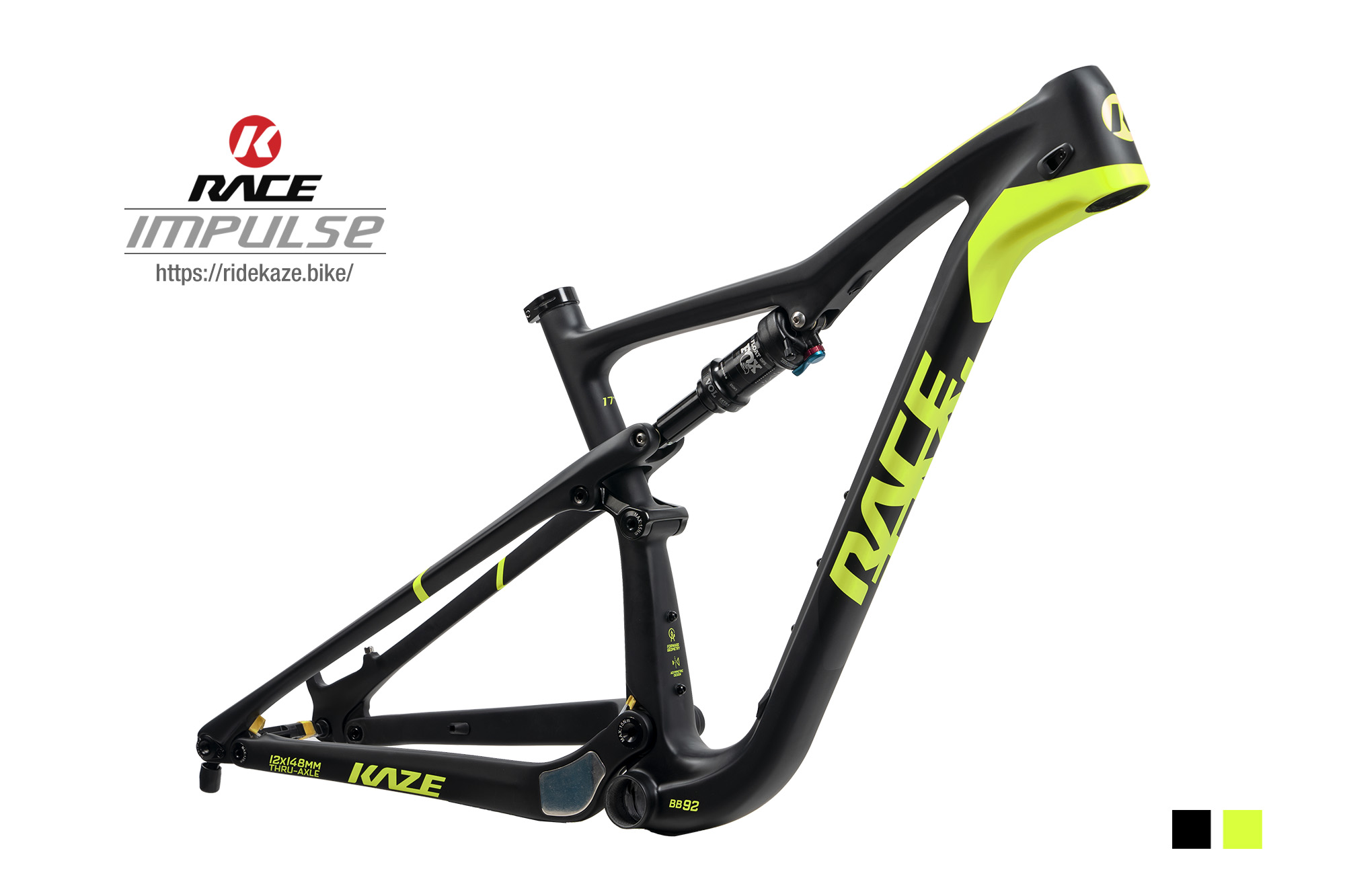 KAZE RACE   IMPULSE 29er (Frameset)