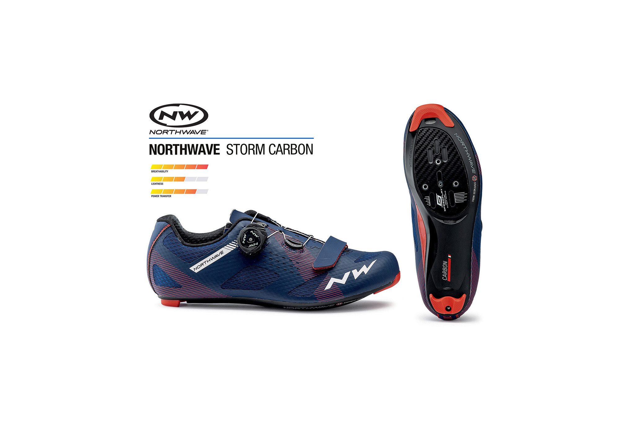 NORTHWAVE | STORM Road shoe carbon