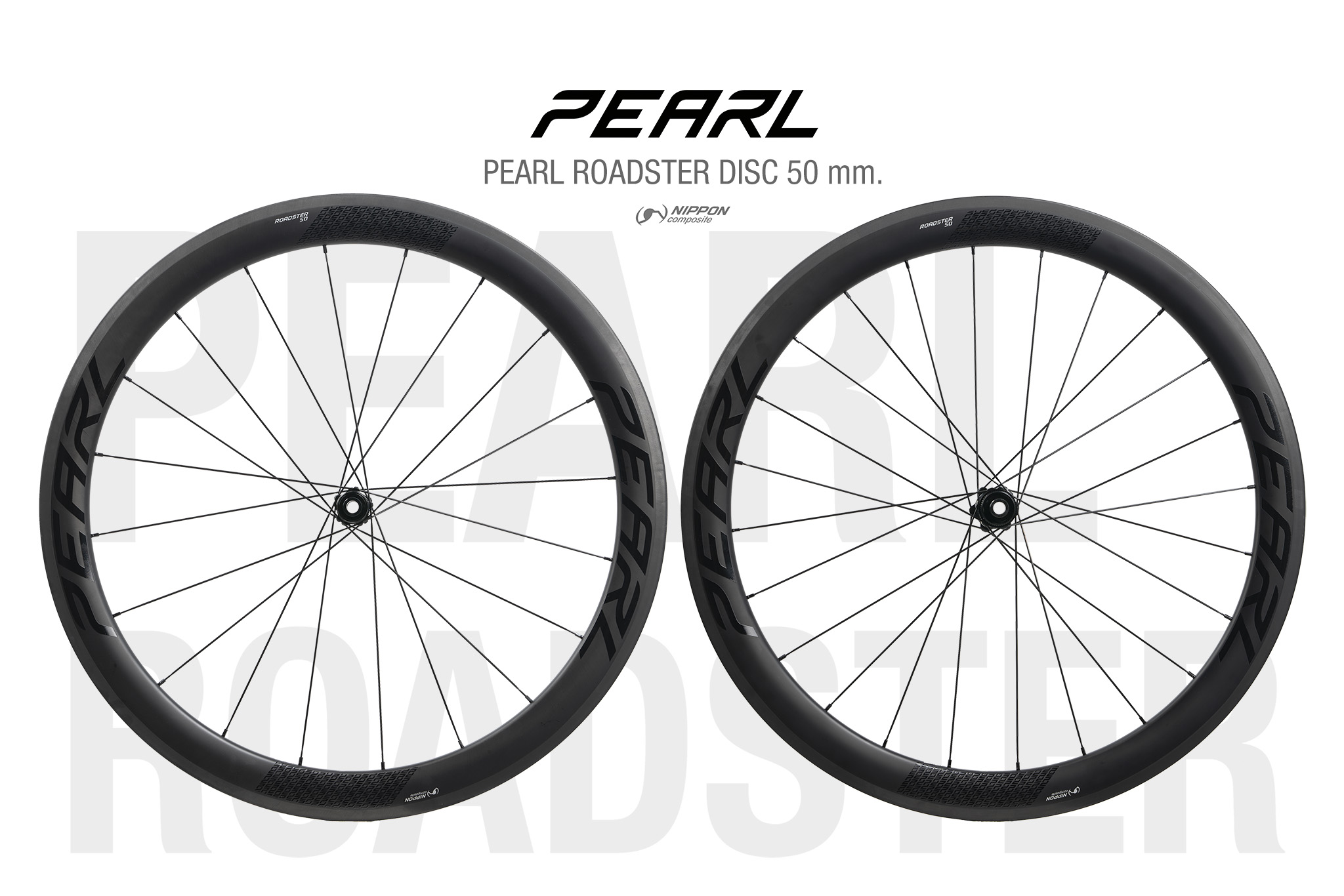 PEARL | ROADSTER  DISC Carbon 50mm. 700c