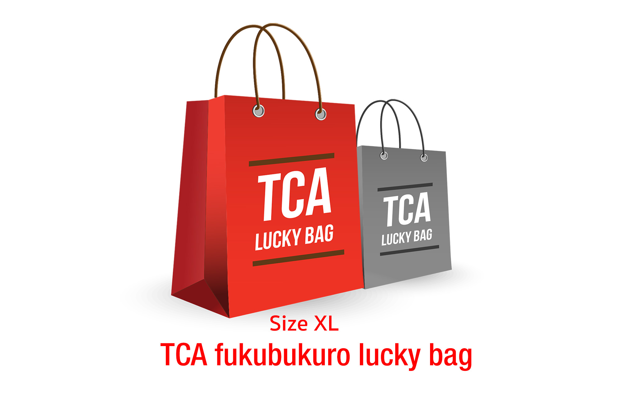 TCA fukubukuro lucky bag | XL size
