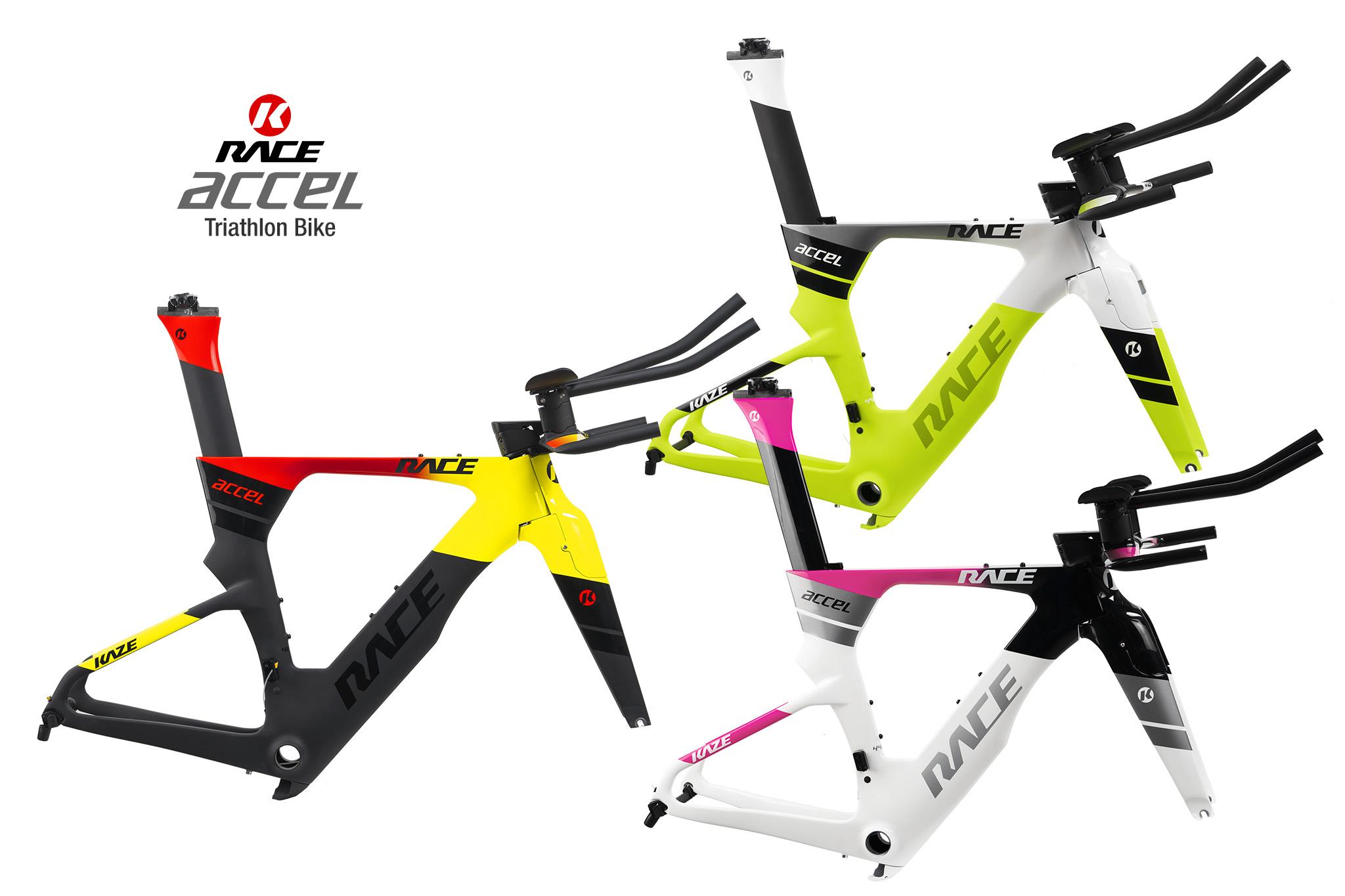 KAZE RACE | ACCEL (Triathlon frame set)