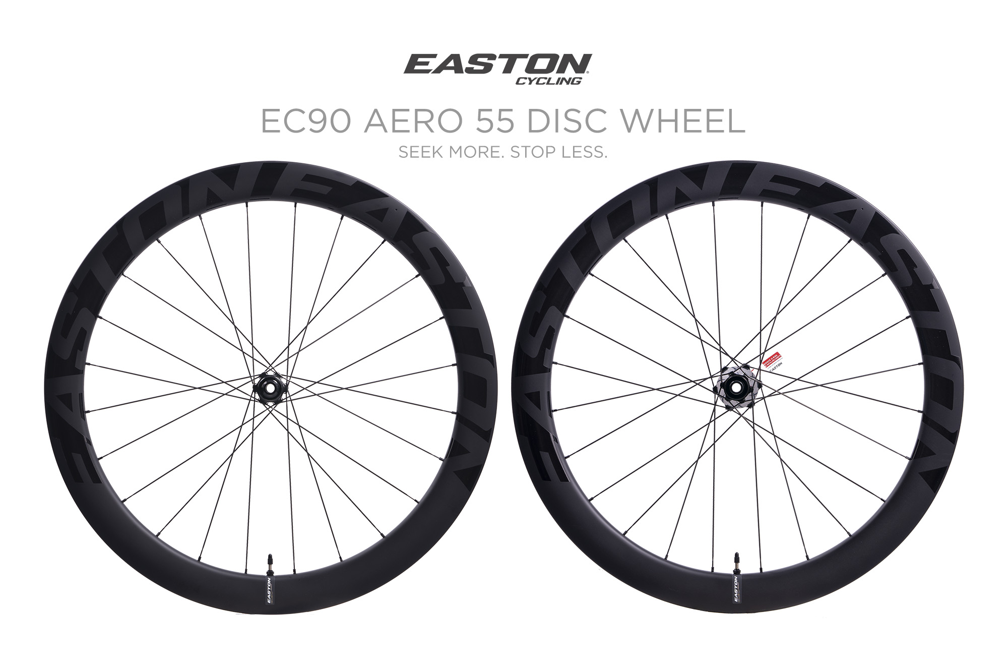EASTON   EC90 Aero 55 Carbon Road Disc Wheelset