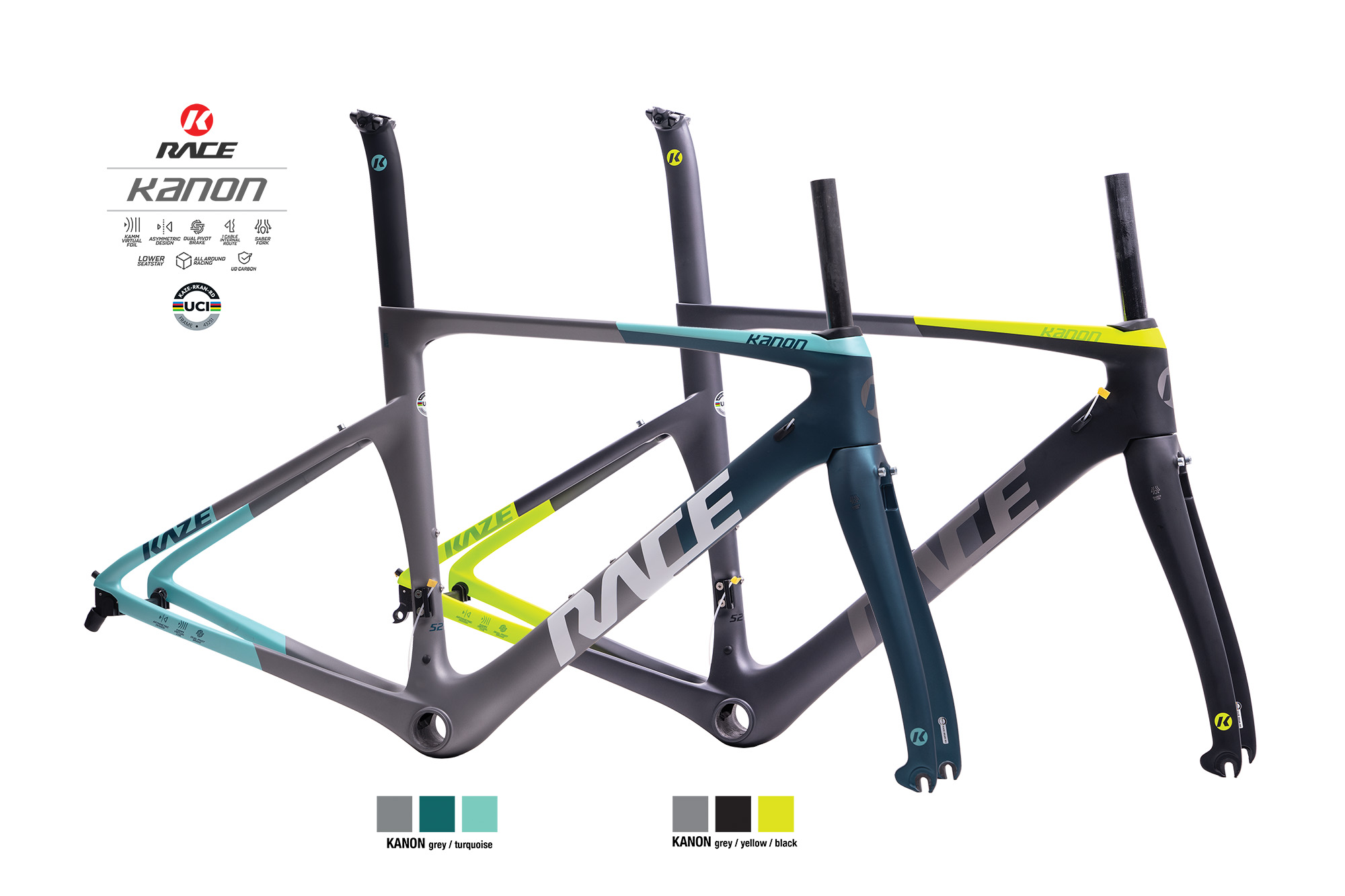 KAZE RACE | KANON (Frame set) Direct Mount